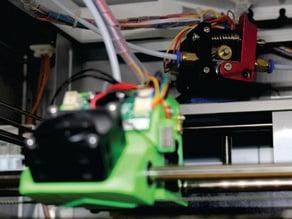 XYZ Printing DaVinci 1.0 bowden motor mount