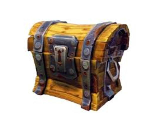 fortnite chest by z mech thingiverse shout out clip art way to go shoot out clip art
