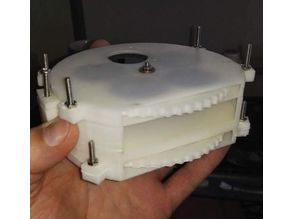 Optical LED and FILTER WHEEL for Microscopy or Spectroscopy