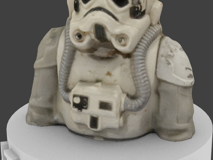 Star Wars AT-AT Driver 1980 Figurine Bust v2.0 by ...