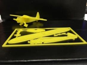 Mini Howard DG-15 Airplane