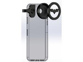 iPhone X Batman Signal Projector