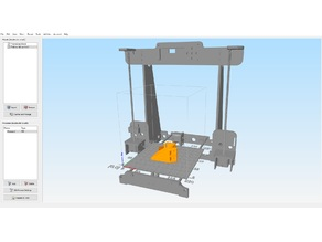 Anet A8 build plate for simplify3d