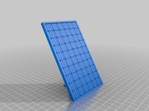 Realistic Solar Panel Model