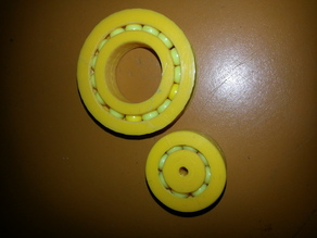 20mm x 40mm  Airsoft Fidget Ring or Ball Bearing