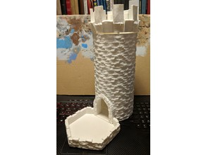 Medieval Stone Dice Tower - Modular