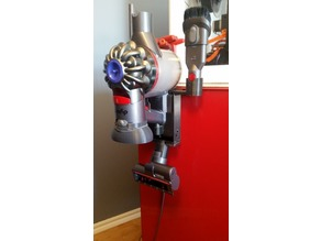 dyson v7 trigger wall mount with accessory