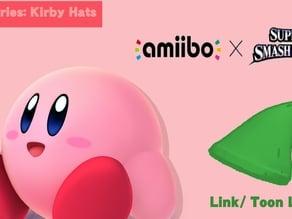 Kirby Amiibo Hats- Toon Link/ Link