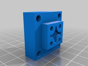 Cubify Cube X Axis Mount