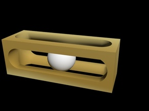 Mystery golf ball puzzle