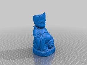 Baby Groot Buddha