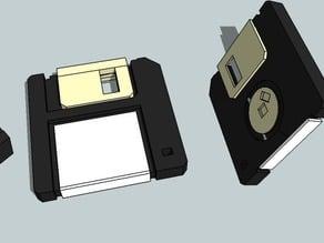 "DailyEarring#102:Floppy Disk (3.5"")"