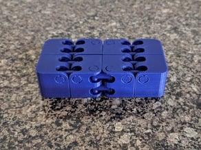 Kobayashi Fidget Cube - Fat Hinge - Flat