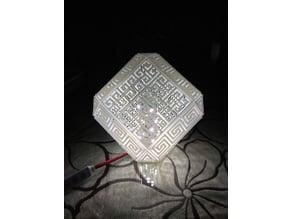 Greek Meander Lamp(remix bottom)