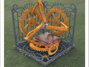Steampunk 3D Printer