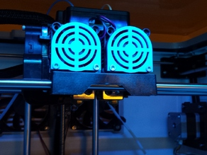 Flashforge Dreamer fan grill replacement