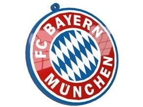 FC BAYERN logo Key chain