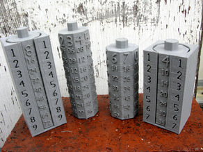 Compact Multiplication Tables