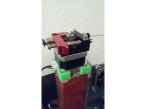 Small nema 17 extruder clamp for E-Waste printer