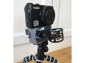 Zoom H1 Shock Mount for Tripod