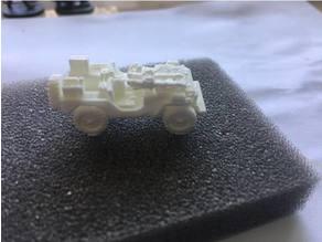 1:100 / 15mm LRDG Jeep