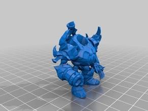 World of Warcraft Fel Reaver Mount miniature