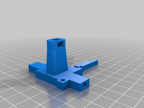 3mm Filament Width Sensor Tower with side gate