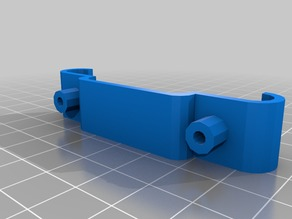 Delta bar clamps mount for Compact Bowden Extruder