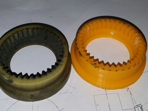 Honda Accord Coupe '08 starter outer ring gear