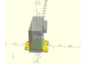GEPRC Mark 4 gopro / action cam mount