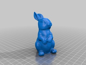 Smoothed Easter Bunny