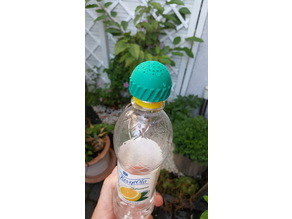 Soda bottle watering cap