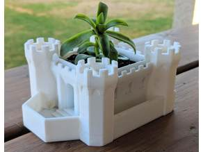Castle Towers Planter