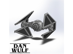 Star Wars Legion Terrain - DWG TIE Interceptor