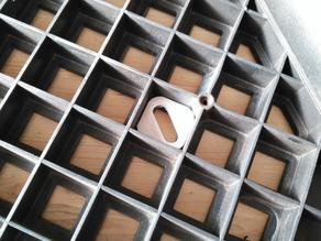 Givi coffer standart fastening plate collar rectangle