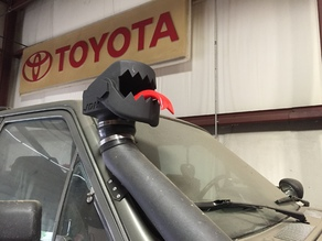 Truck Snorkel Cover