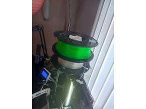 Filament Spool Holder for Anet A6 and A8