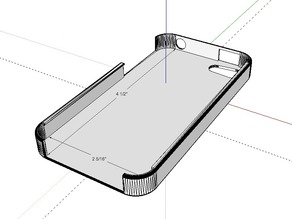 iPhone 4 case - SketchUp