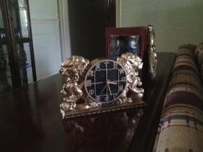 Guardian Lions Clock