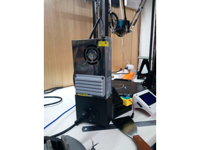 Anycubic Kossel Power Supply grills