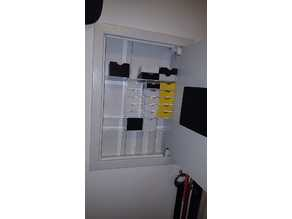 China wall safe organizer