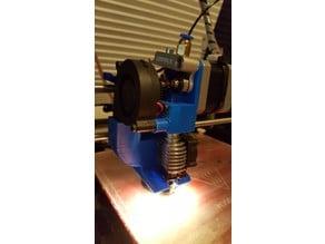 Geeetech Prometheus V2 Hotend Holder & Downward Cooling Blower with Lights
