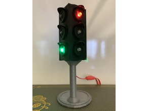 Chibi Clip Traffic Light