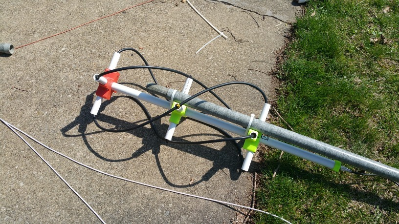 QFH Antenna for 145mhz by NA8E - Thingiverse