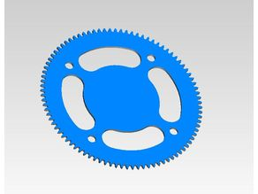 Scan-O-Tron v.2.0 Rear Sprocket
