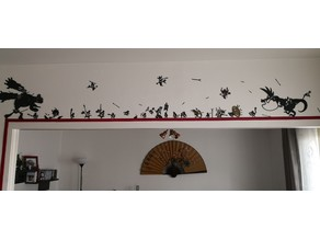 Patapon Warriors collection (wall decoration)