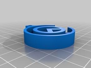 Craftama logo keychain v2