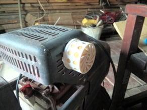 Air compressor filter box