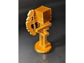 Minecraft Skeleton Figurine