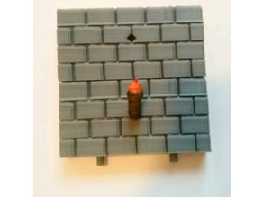 Dungeon Pegs Torch